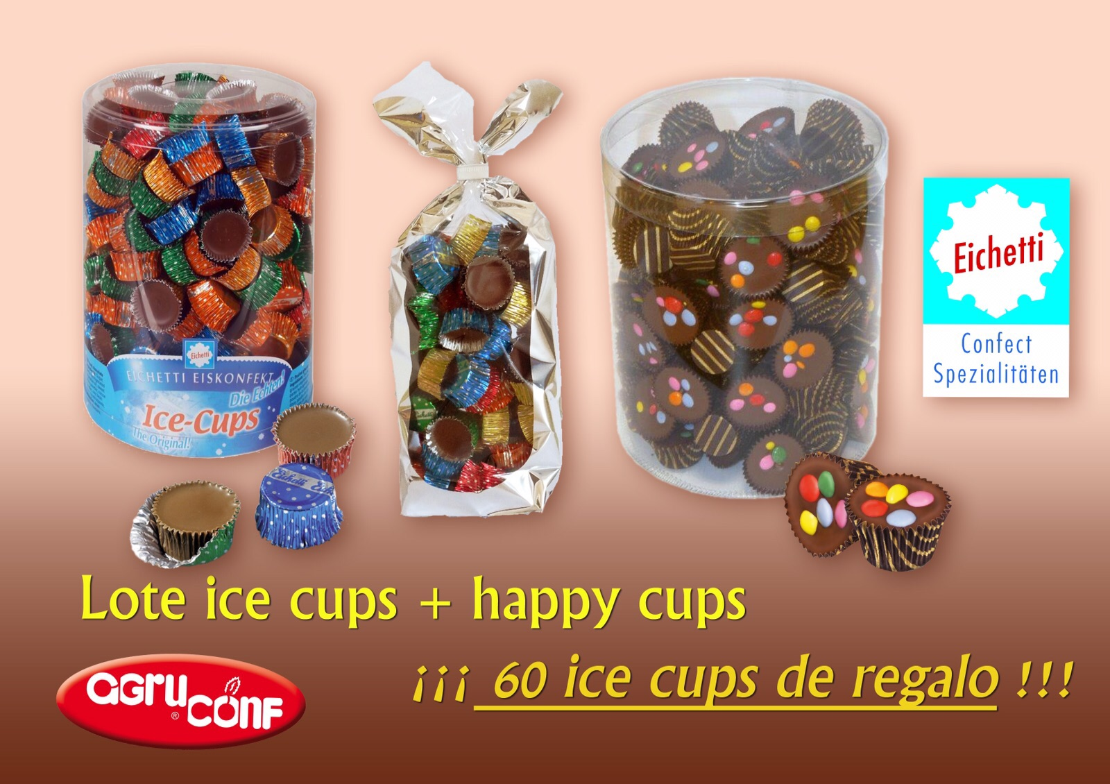 Lote ice cups + Happy Cups