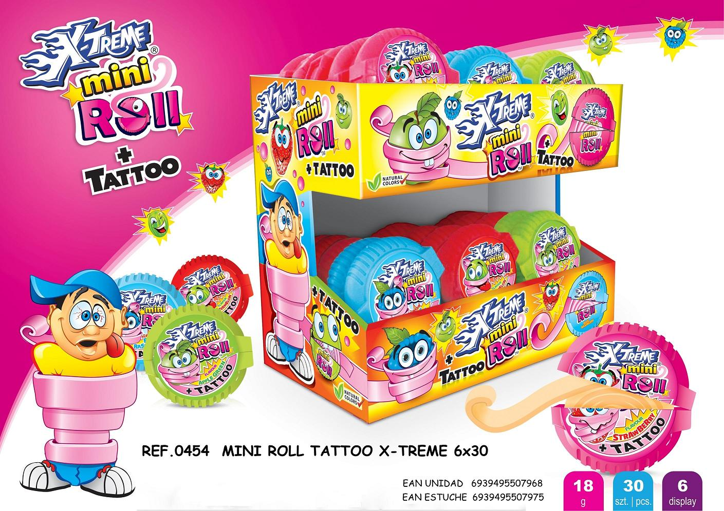 Mini Roll Tatto